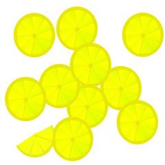 sfondo con limoni