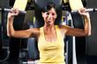 roleta: Training im Fitnessstudio