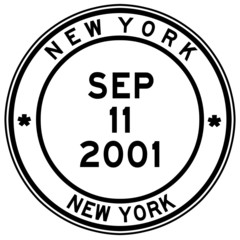nine eleven new york post stamp