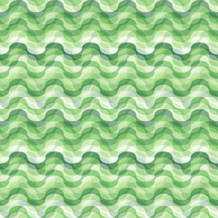 Seamless swirl green tile pattern