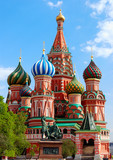 Fototapety St.Basil's Cathedral on the Red Square in Moscow