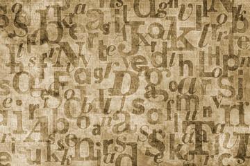 type background