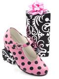 Speckles shoe poster