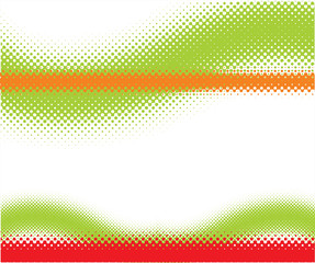 Halftone background. 3