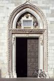 Portale del Duomo di Santa Maria Assunta, Cividale del Friuli poster