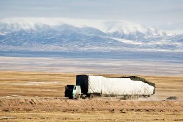Mountain truck