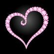 ダイヤモンドのハート diamond heart - 15975419