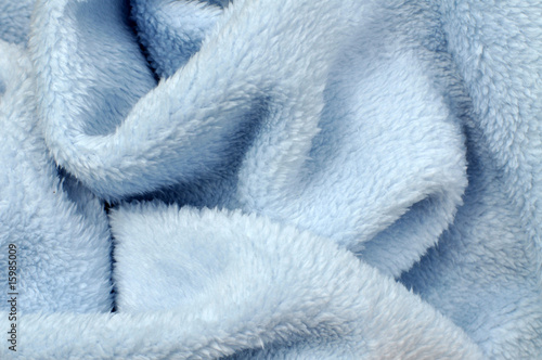 Soft Blue Baby Blanket - 15985009