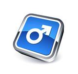 icône homme / symbole masculin poster