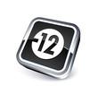 icône pictogramme jeunesse : déconseillé aux moins de 12 ans