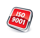 icône norme iso 9001 poster