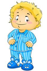 Boy on PJs