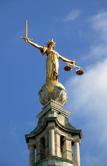 Scales Of Justice (Lady Of Justice) Old Bailey,