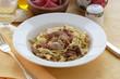 Tagliatelle al crudo e porcini - Primi Emilia Romagna