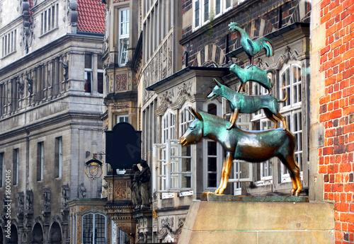 Foto op Canvas Artistiek mon. Bremen