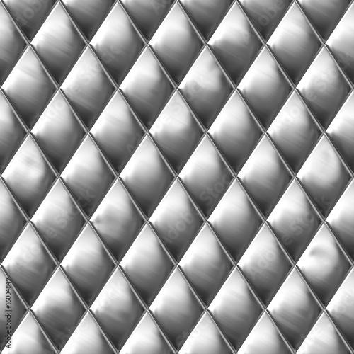 Poster Diamond Cut Metal Pattern