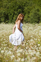 Woman Dancing In Savage Garden