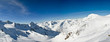 Winterpanorama am Stubaier Gletscher