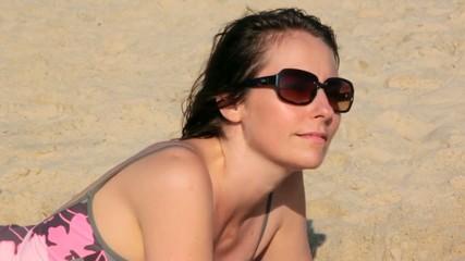 détente sur le sable
