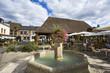 Leinwanddruck Bild - france; normandie; eure; lyons-la-forêt : place du marché
