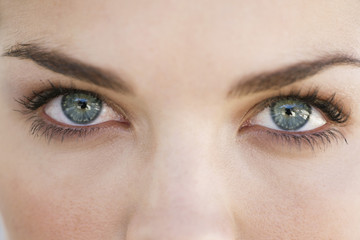 Close-up of eyes of a woman