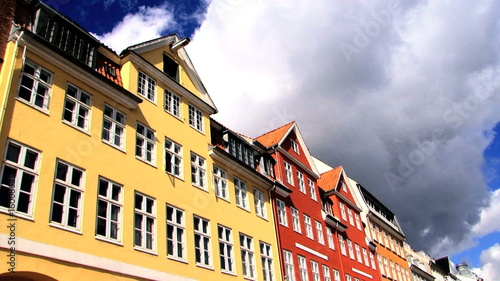 Nyhavn Colored Houses