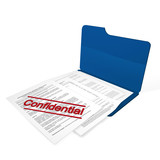 confidential file poster