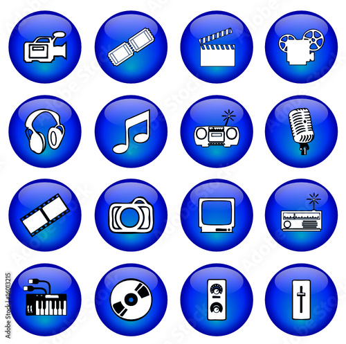 poster of Gel buttons (Media - Arts)
