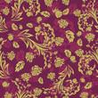 roleta: floral seamless