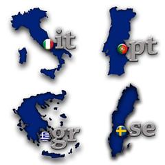 Dominios paises