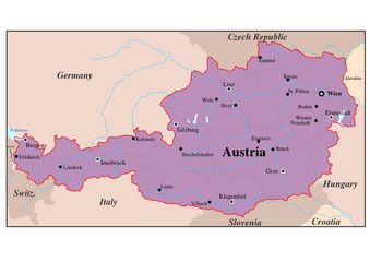 Österreich - Land der Berge