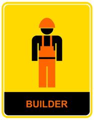Builder - sign