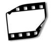 Blank film frame