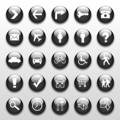 web icons/buttons
