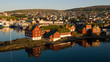 Leinwanddruck Bild - Tórshavn, Färöer-Inseln