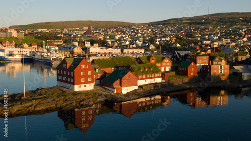 Leinwanddruck Bild Tórshavn, Färöer-Inseln