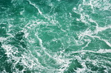 Rapid water background poster