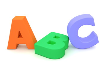 Colourful ABC