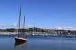 bateau et port de plaisance