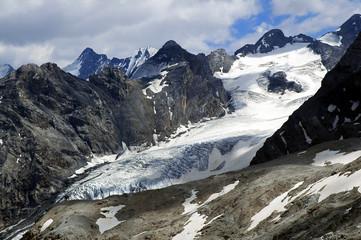 Passo dello Stelvio: ghiacciaio dell'Ortles