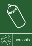 Recycling Sign Aerosols