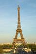 Eiffelturm in der Abendsonne
