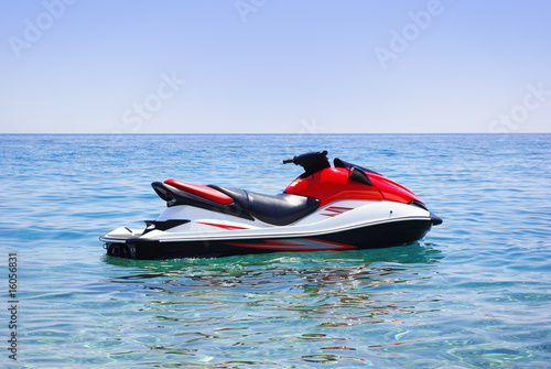 Canvas Water Motorsp. jet ski