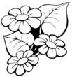 Floral motive 1