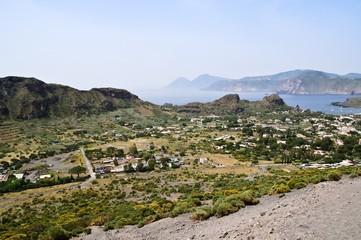 Panorama Vulcano (eolie)