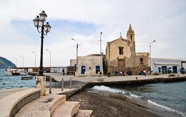 Piazza Marina Corta Lipari