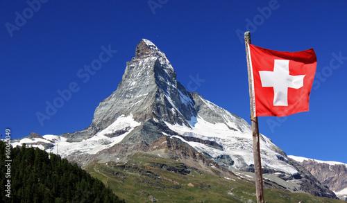 Canvas Alpen Matterhorn