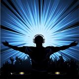 Fototapety DJ party