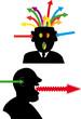 heads arrows