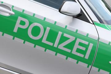 Polizei Tuer